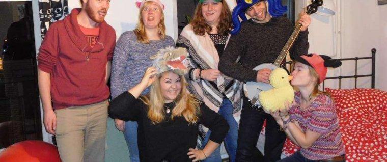 De commissie met een naakte molrat, baviaan en nog veel meer: de EuropaCie!