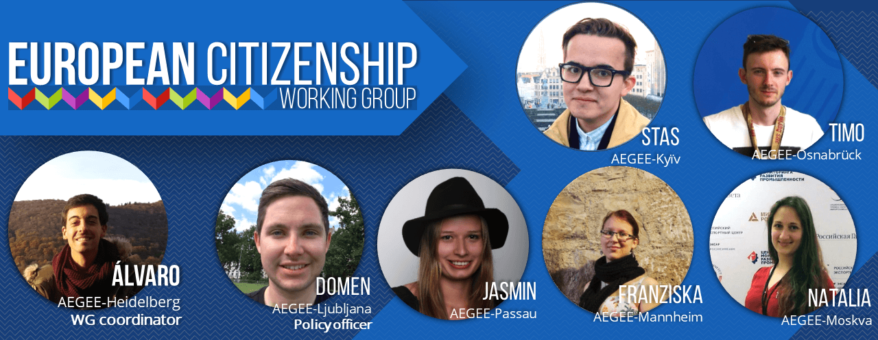 It's time to get to know AEGEE-Europe: The European Citizenship Working Group