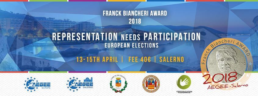 Franck Biancheri Award – Representation needs Participation: European Elections