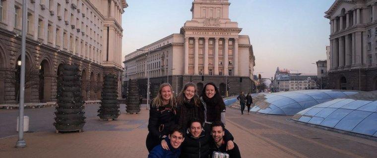Met AEGEE-Groningen op excursie naar Sofia!