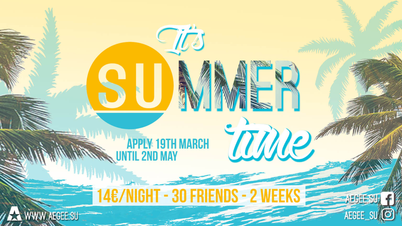 Apply for the summer of your life!