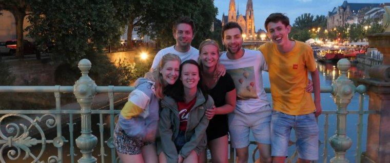 Eens in de vijf jaar: AEGEE-Groningen naar Straatsburg